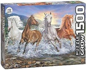 Quebra-Cabeças - Cavalos Selvagens 1500pçs - Grow