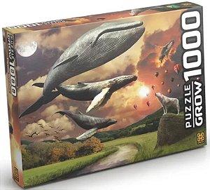 Quebra-Cabeças - Flying Whales 1000pçs - Grow