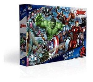 Quebra-Cabeças - Avengers 2000pçs - Game Office