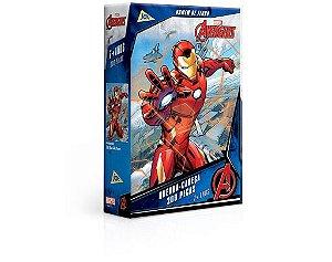 Quebra-Cabeças - Avengers Homem de Ferro 200pçs - Jak