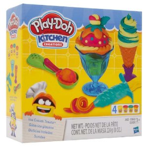Play Doh Kitchen Creations - Delicias Geladas - Hasbro