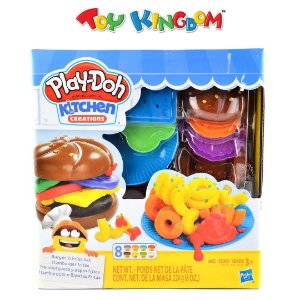 Play Doh Kitchen Creations - Hamburguer e Batatas Fritas - Hasbro