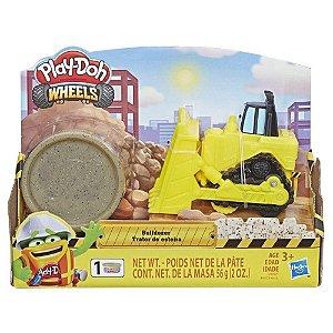 Play Doh Wheels - Trator de Esteira - Hasbro