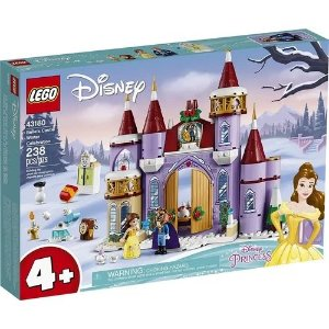 Lego Disney - Belle's Castle Winter Celebration - Original Lego
