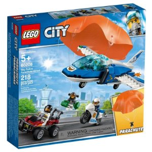 Lego City - Sky Police Parachute Arrest - Original Lego