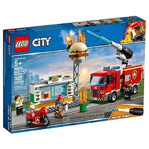 Lego City - Burguer Bar Fire Rescue - Original Lego