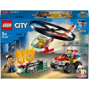 Lego City - Fire Helicopter Response - Original Lego