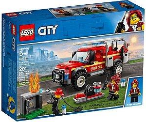 Lego City - Fire Chief Response Truck - Original Lego