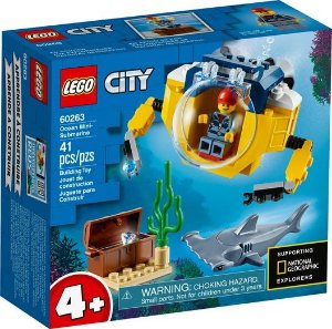 Lego City - Ocean Mini-Submarine - Original Lego
