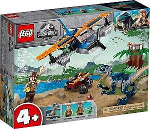 Lego Jurassic World - Velociraptor: Biplane Rescue Mission - Original Lego