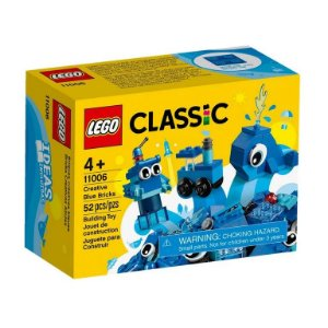 Lego Classic - Creative Blue Bricks - Original Lego