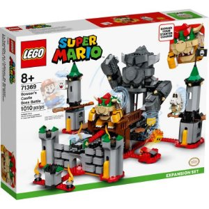 Lego Super Mario - Bowser's Castle Boss Battle - Original Lego