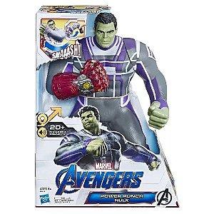 Boneco Eletronico Power Punch Hulk Avengers - Hasbro
