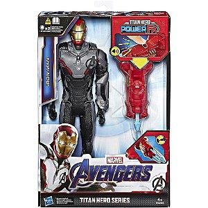 Boneco Articulado Eletronico Homem de Ferro Power FX - Hasbro