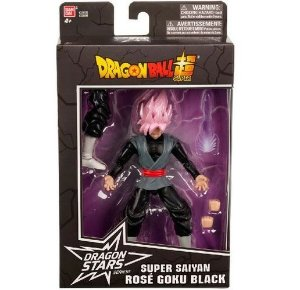 Figura de Animação - Dragon Ball Super - Dragon Stars - Super Saiyan Rose Goku Black
