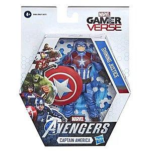 Figuras Avengers Gamer Verse - Hasbro - Capitain America