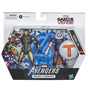 Figuras Avengers Gamer Verse - Hasbro - Iron Man vs TaskMaster