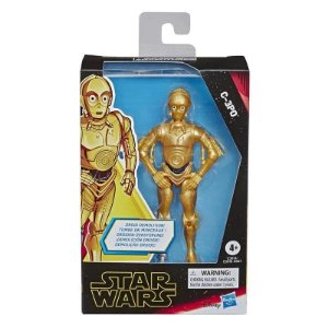 Figuras 12cm - Star Wars Galaxy of Adventures - C-3PO