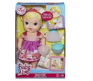 BABY ALIVE HORA DO CHA A9288 LOIRA