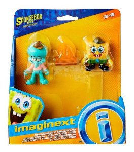 IMAGINEXT BOB ESPONJA - SORT FIG BAS CAMP CORAL 1