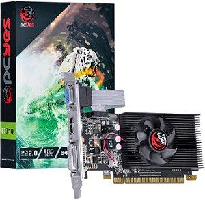 PLACA DE VÍDEO PCYES GEFORCE GT 710 2GB DDR3 64BIT