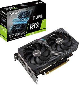 PLACA DE VÍDEO ASUS GEFORCE RTX 3060 OC 12GB GDDR6 192BITS