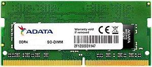 MEMÓRIA NOTEBOOK 4GB 2666MHZ DDR4 ADATA