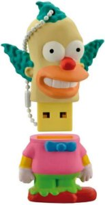PENDRIVE 8GB THE SIMPSONS KRUSTY PD074