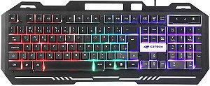 TECLADO GAMER C3TECH RGB KG-40BK