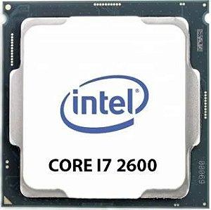 PROCESSADOR INTEL CORE I7 2600 3.40GHZ 8MB LGA1155