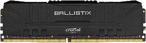MEMÓRIA DESKTOP 8GB 2666MHZ DDR4 CRUCIAL BALLISTIX