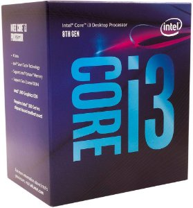 PROCESSADOR INTEL CORE i3 8100 3.6GHZ 6MB CACHE COFFEE LAKE LGA1151