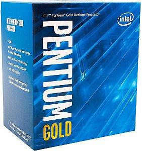 PROCESSADOR INTEL PENTIUM GOLD G5400 3.7GHZ 4MB CACHE LGA1151
