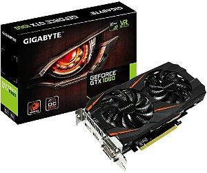 PLACA DE VÍDEO GIGABYTE GEFORCE GTX 1060 OC 6GB DDR5