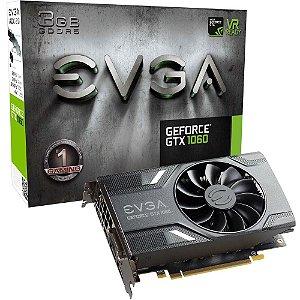 PLACA DE VÍDEO EVGA GEFORCE GTX 1060 3GB DDR5 - SEMINOVA