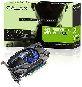 PLACA DE VÍDEO GALAX GEFORCE GT 1030 2GB DDR4