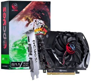 PLACA DE VÍDEO PCYES GEFORCE GT 730 1GB DDR5 128BITS