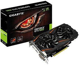 PLACA DE VÍDEO GIGABYTE GEFORCE GTX 1060 OC 3GB DDR5