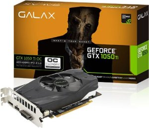 PLACA DE VÍDEO GALAX GEFORCE GTX 1050TI OC 4GB DDR5