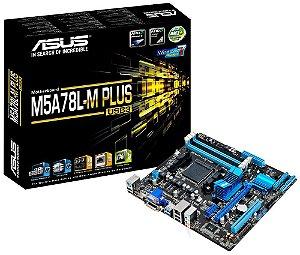 PLACA MÃE ASUS M5A78L-M PLUS/USB3 DDR3 AM3+