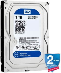 HD DESKTOP WD BLUE 1TB 7200RPM WD10EZEX