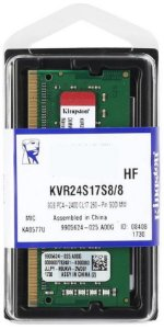 MEMÓRIA NOTEBOOK KINGSTON 8GB 2400MHZ DDR4