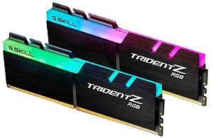 MEMÓRIA DESKTOP G.SKILL TRIDENT Z RGB 16GB 2400MHZ DDR4