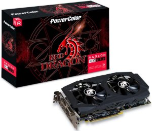 PLACA DE VÍDEO POWERCOLOR AMD RADEON RX 580 8GB DDR5