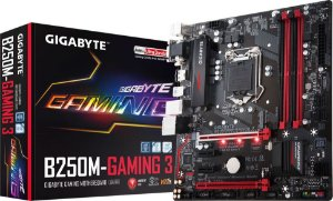 PLACA MÃE GIGABYTE B250M-GAMING 3 DDR4 LGA1151