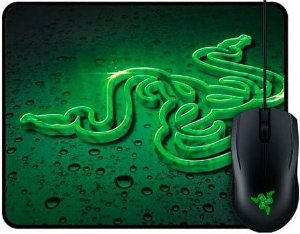 KIT RAZER MOUSE ABYSSUS 2000DPI + MOUSEPAD GOLIATHUS SPEED TERRA 270X210MM