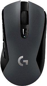 MOUSE GAMER LOGITECH G603 HERO LIGHTSPEED SEM FIO 12000DPI