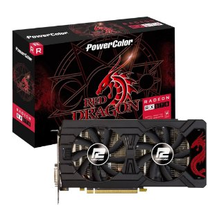 PLACA DE VÍDEO POWERCOLOR AMD RADEON RX 570 4GB GDDR5 256BITS