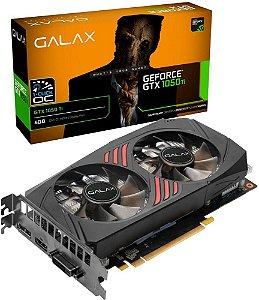 PLACA DE VÍDEO GALAX GTX 1050TI  1-CLICK OC 4GB GDDR5 128BITS