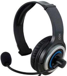 HEADSET OEX ARMY PS4 GAMER HS407